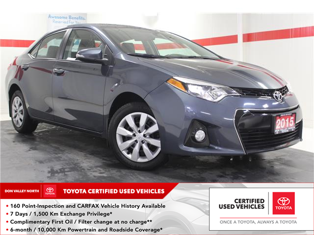 2015 Toyota Corolla S (Stk: 300071S) in Markham - Image 1 of 24