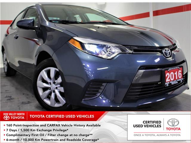 2016 Toyota Corolla LE (Stk: 300256S) in Markham - Image 1 of 22