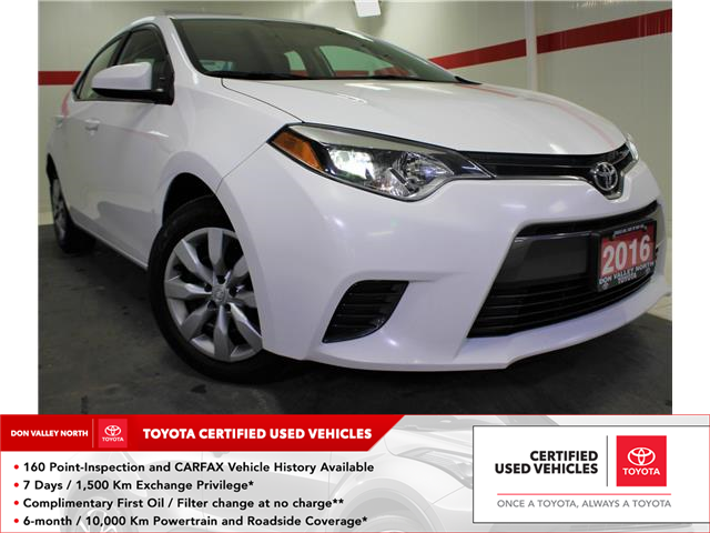 2016 Toyota Corolla LE (Stk: 300266S) in Markham - Image 1 of 23