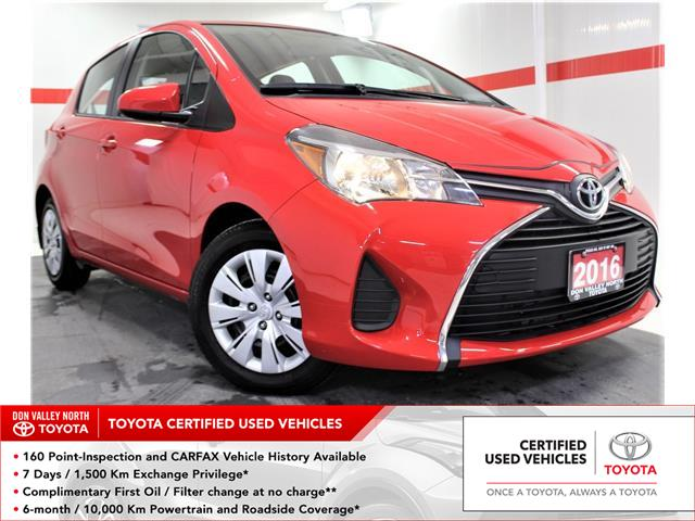 2016 Toyota Yaris LE (Stk: 300346S) in Markham - Image 1 of 22