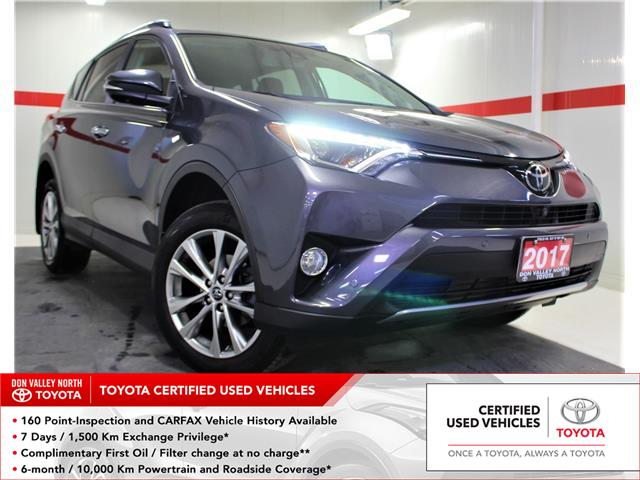 2017 Toyota RAV4 Limited (Stk: 300487S) in Markham - Image 1 of 28