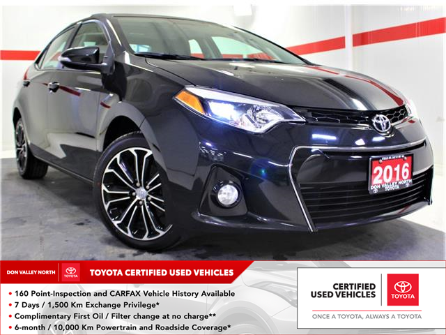 2016 Toyota Corolla S (Stk: 300632S) in Markham - Image 1 of 24