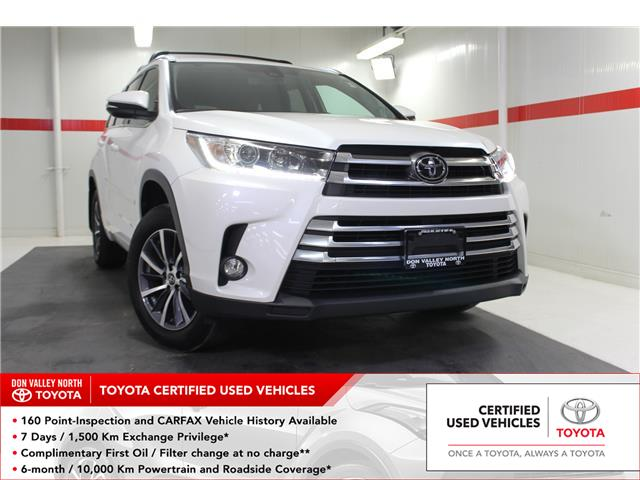 2017 Toyota Highlander XLE (Stk: 300914S) in Markham - Image 1 of 28