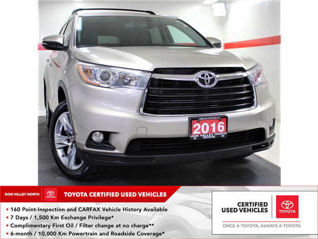 2016 Toyota Highlander Limited (Stk: 301962S) in Markham - Image 1 of 30