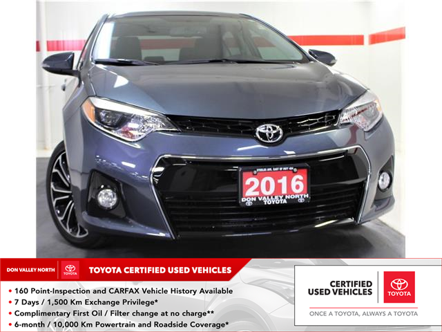 2016 Toyota Corolla S (Stk: 302296S) in Markham - Image 1 of 25