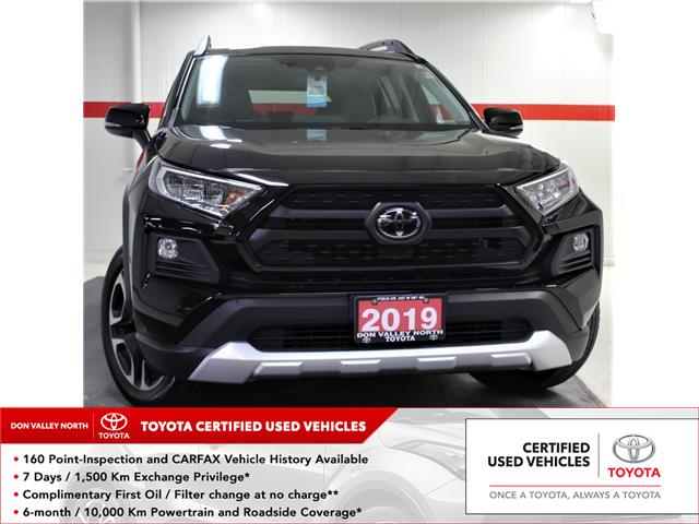2019 Toyota RAV4 Trail (Stk: 302415S) in Markham - Image 1 of 27