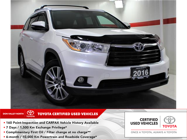 2016 Toyota Highlander XLE (Stk: 302977S) in Markham - Image 1 of 25