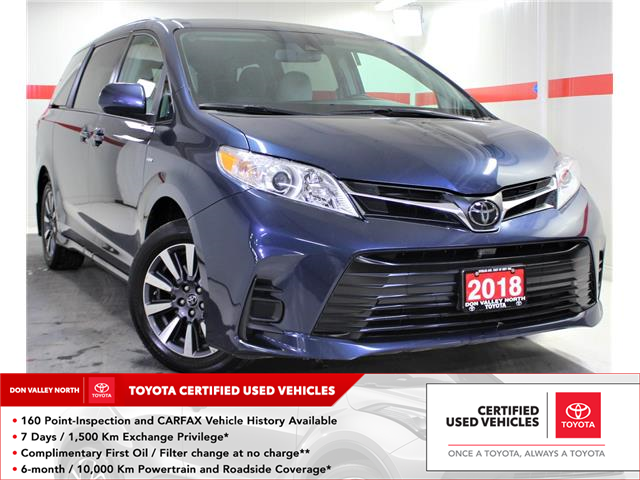 2018 Toyota Sienna LE 7-Passenger (Stk: 303166S) in Markham - Image 1 of 23