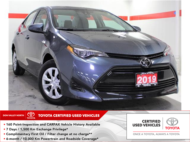 2019 Toyota Corolla CE (Stk: 303482S) in Markham - Image 1 of 22