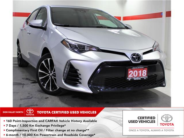 2018 Toyota Corolla SE (Stk: 303548S) in Markham - Image 1 of 24