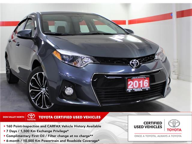 2016 Toyota Corolla S (Stk: 303564S) in Markham - Image 1 of 25