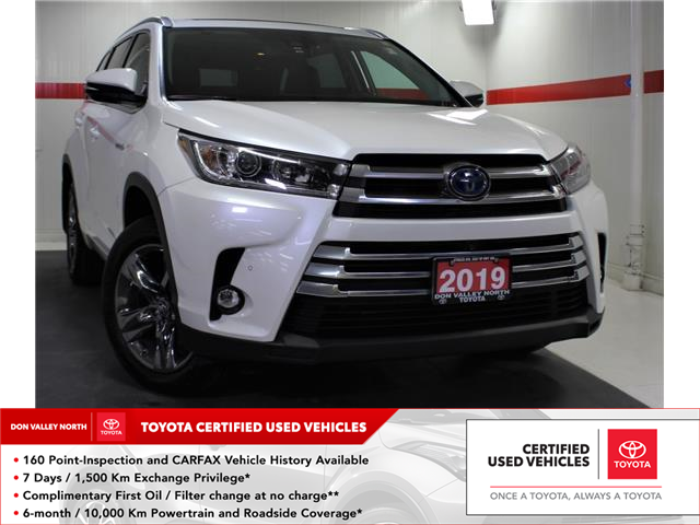 2019 Toyota Highlander Hybrid Limited (Stk: 303677S) in Markham - Image 1 of 27