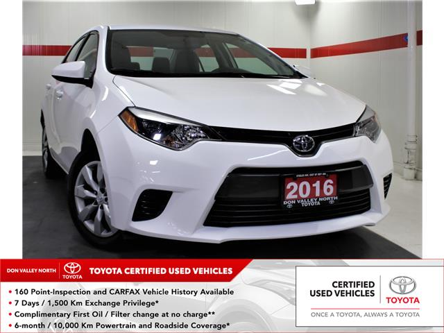 2016 Toyota Corolla LE (Stk: 303686S) in Markham - Image 1 of 22