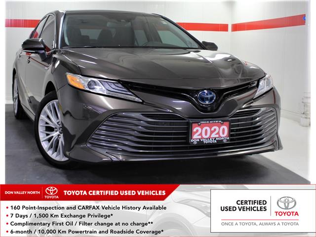 2020 Toyota Camry Hybrid XLE (Stk: 303758S) in Markham - Image 1 of 26