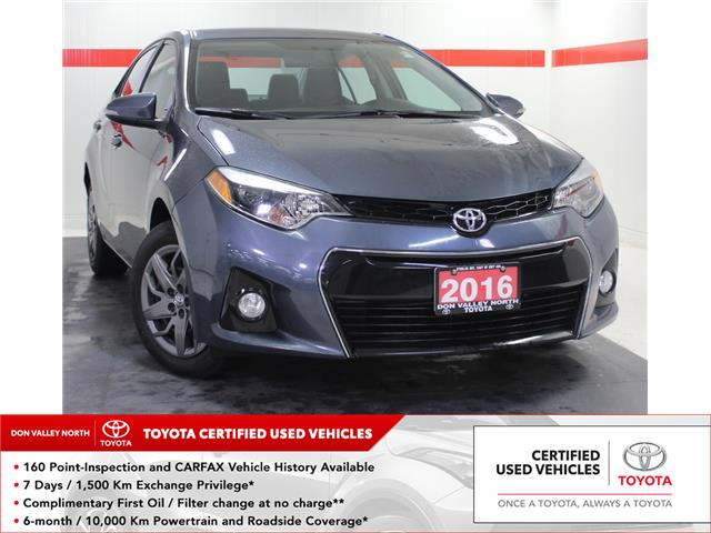 2016 Toyota Corolla S (Stk: 304027S) in Markham - Image 1 of 22