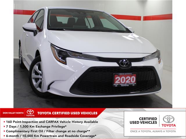 2020 Toyota Corolla LE (Stk: 304120S) in Markham - Image 1 of 20