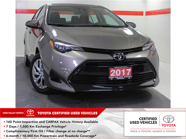 2017 Toyota Corolla LE (Stk: 304159S) in Markham - Image 1 of 22