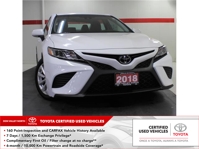 2018 Toyota Camry SE (Stk: 304350S) in Markham - Image 1 of 21
