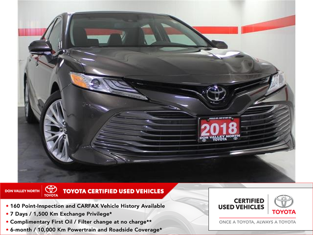 2018 Toyota Camry XLE (Stk: 304474S) in Markham - Image 1 of 23