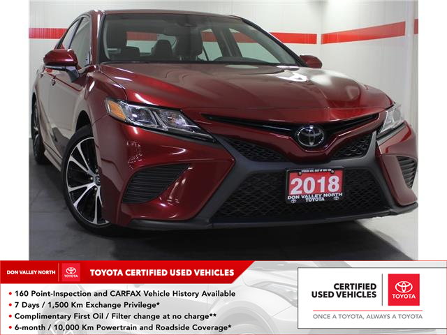 2018 Toyota Camry SE (Stk: 304569S) in Markham - Image 1 of 21