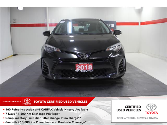 2018 Toyota Corolla SE (Stk: 10U1219) in Markham - Image 1 of 23