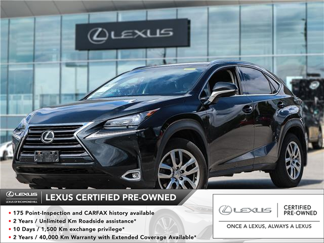 2016 Lexus NX 200t  (Stk: 12357G) in Richmond Hill - Image 1 of 25