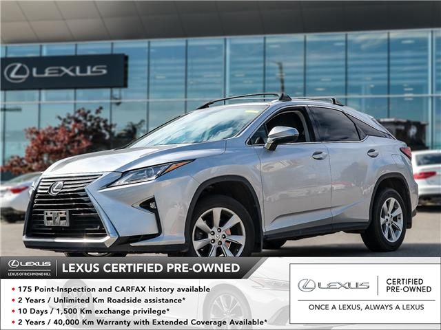 2016 Lexus RX 350  (Stk: 12477G) in Richmond Hill - Image 1 of 16