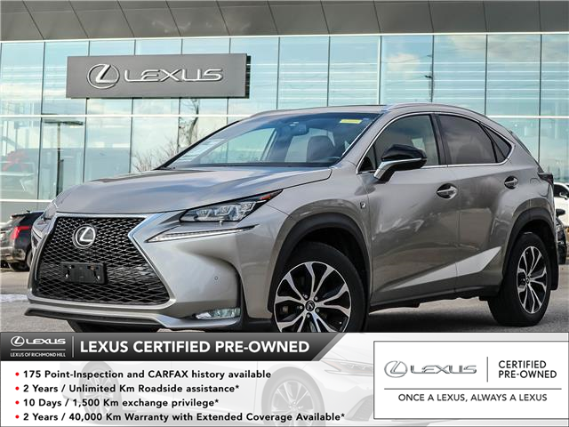 2016 Lexus NX 200t  (Stk: 12718G) in Richmond Hill - Image 1 of 20