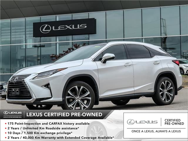 2017 Lexus RX 450h  (Stk: 13323G) in Richmond Hill - Image 1 of 24