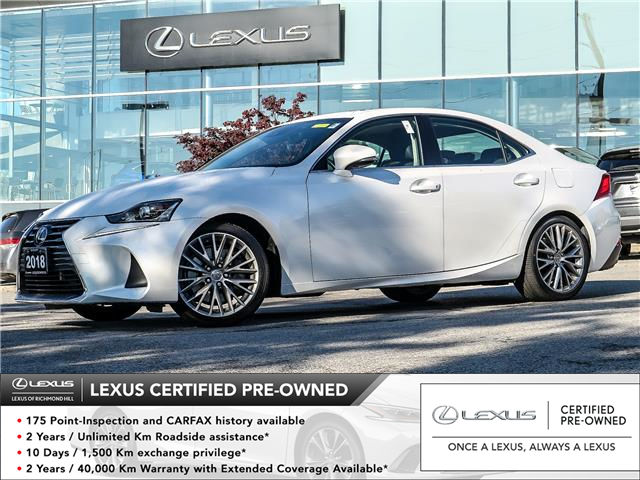 2018 Lexus IS 300 Base (Stk: 13561G) in Richmond Hill - Image 1 of 23