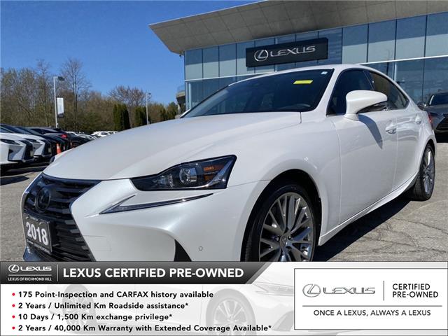 2018 Lexus IS 300  (Stk: 14399G) in Richmond Hill - Image 1 of 19