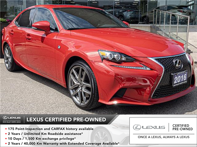 2016 Lexus IS 350 Base (Stk: 28365A) in Markham - Image 1 of 25
