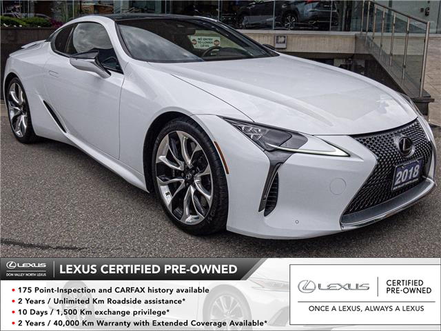 2018 Lexus LC 500 Base (Stk: 28357A) in Markham - Image 1 of 27