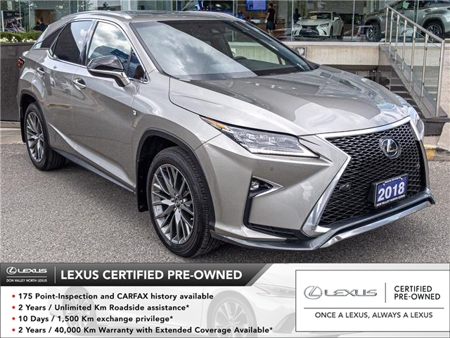 2018 Lexus RX 350 Base (Stk: 28567A) in Markham - Image 1 of 25