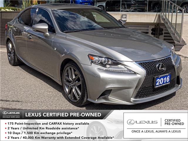 2016 Lexus IS 350  (Stk: 28715A) in Markham - Image 1 of 24