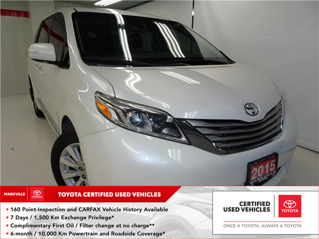 2015 Toyota Sienna Limited 7-Passenger (Stk: 36522U) in Markham - Image 1 of 8