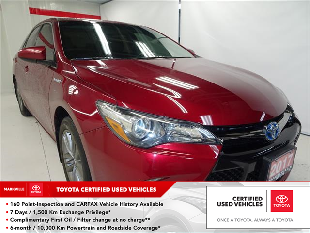 2017 Toyota Camry Hybrid SE (Stk: 36910U) in Markham - Image 1 of 26