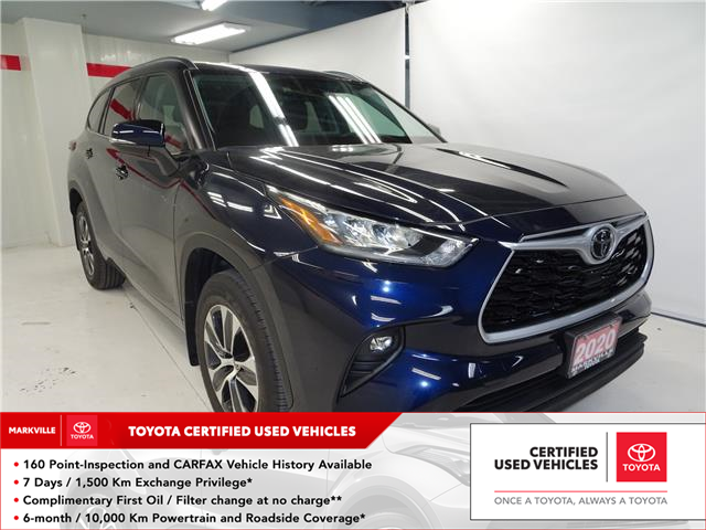 2020 Toyota Highlander XLE (Stk: 37272U) in Markham - Image 1 of 27