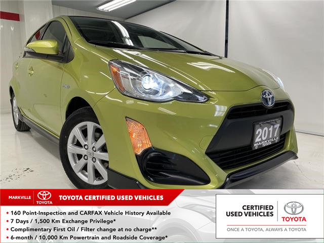 2017 Toyota Prius C Technology (Stk: 38384U) in Markham - Image 1 of 24