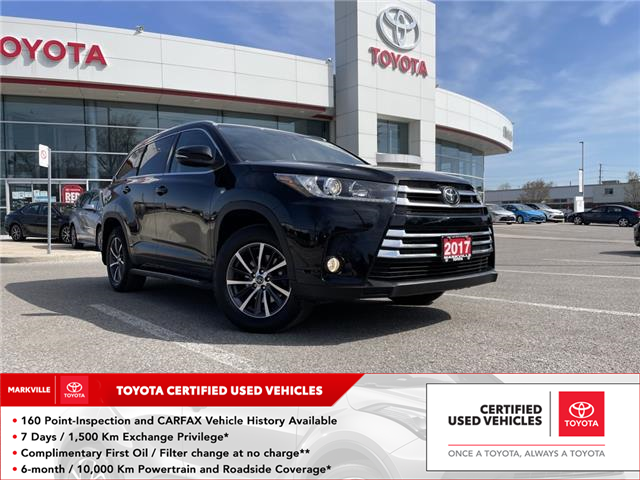 2017 Toyota Highlander XLE (Stk: 38417U) in Markham - Image 1 of 30
