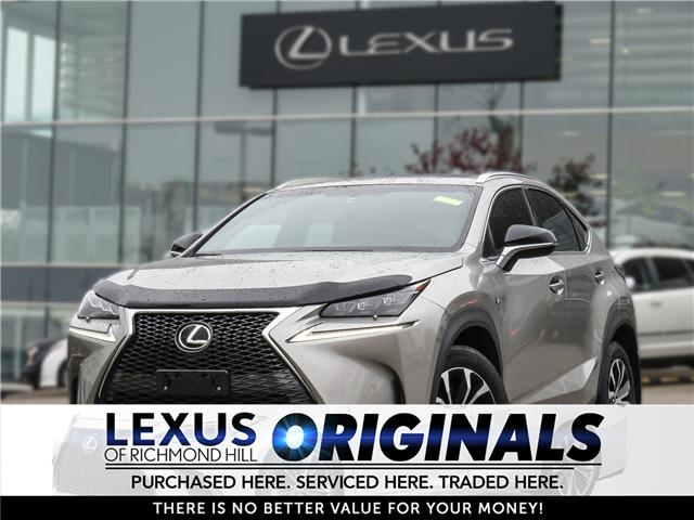 2017 Lexus NX 200t Base (Stk: 12110G) in Richmond Hill - Image 1 of 20