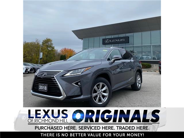 2018 Lexus RX 350  (Stk: 13470G) in Richmond Hill - Image 1 of 11