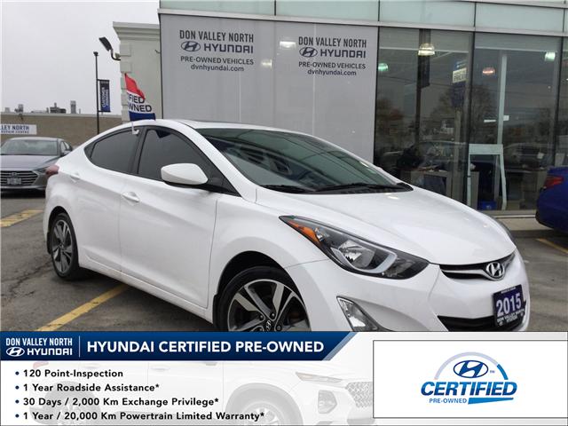 2015 Hyundai Elantra GLS (Stk: 7658H) in Markham - Image 1 of 18