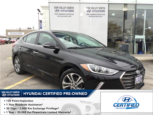 2017 Hyundai Elantra Limited Ultimate (Stk: 7692H) in Markham - Image 1 of 7