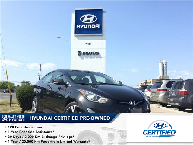 2015 Hyundai Elantra Limited (Stk: 7888H) in Markham - Image 1 of 24