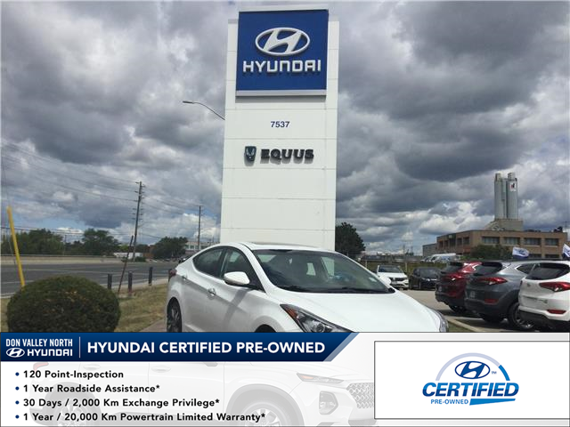 2016 Hyundai Elantra Limited (Stk: 7903H) in Markham - Image 1 of 25