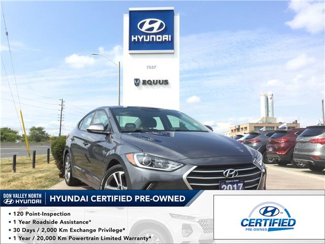 2017 Hyundai Elantra GLS (Stk: 7872H) in Markham - Image 1 of 24