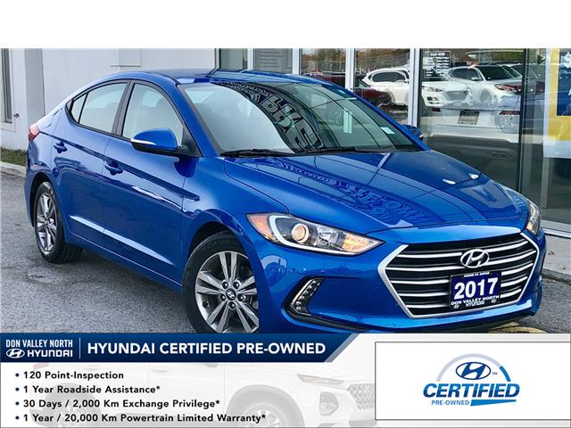 2017 Hyundai Elantra GL (Stk: 8072H) in Markham - Image 1 of 25