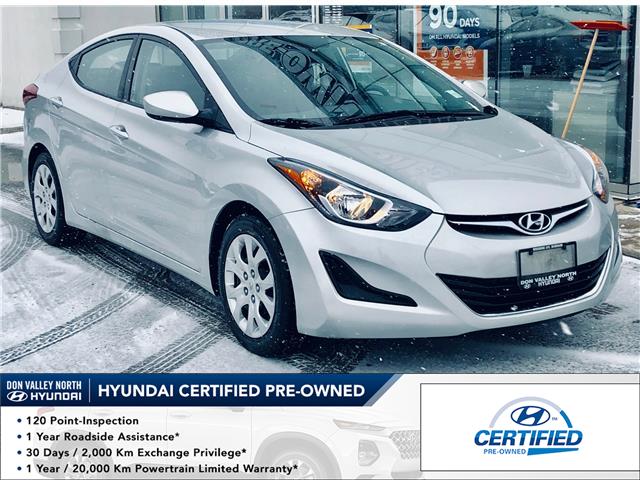 2015 Hyundai Elantra GL (Stk: 8100H) in Markham - Image 1 of 18