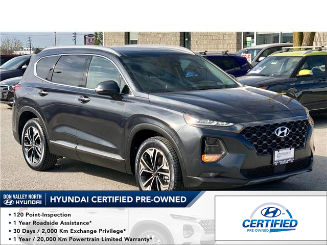 2020 Hyundai Santa Fe Ultimate 2.0 (Stk: 8393H) in Markham - Image 1 of 28